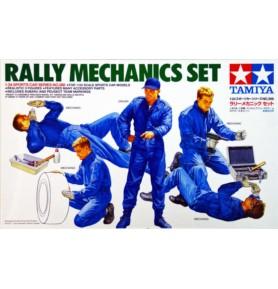 TAMIYA 24266 Figurki Zestaw mechaników rajdowych