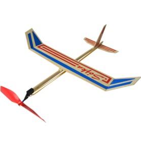 Samolot z napędem gumowym SÓJKA