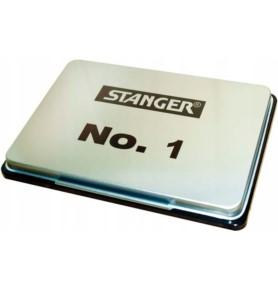 Poduszka do stempli metalowa Stanger 10x14,5cm czarna