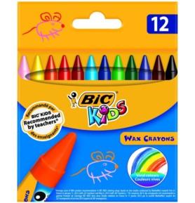 Kredki świecowe BIC KIDS 12 kolorów