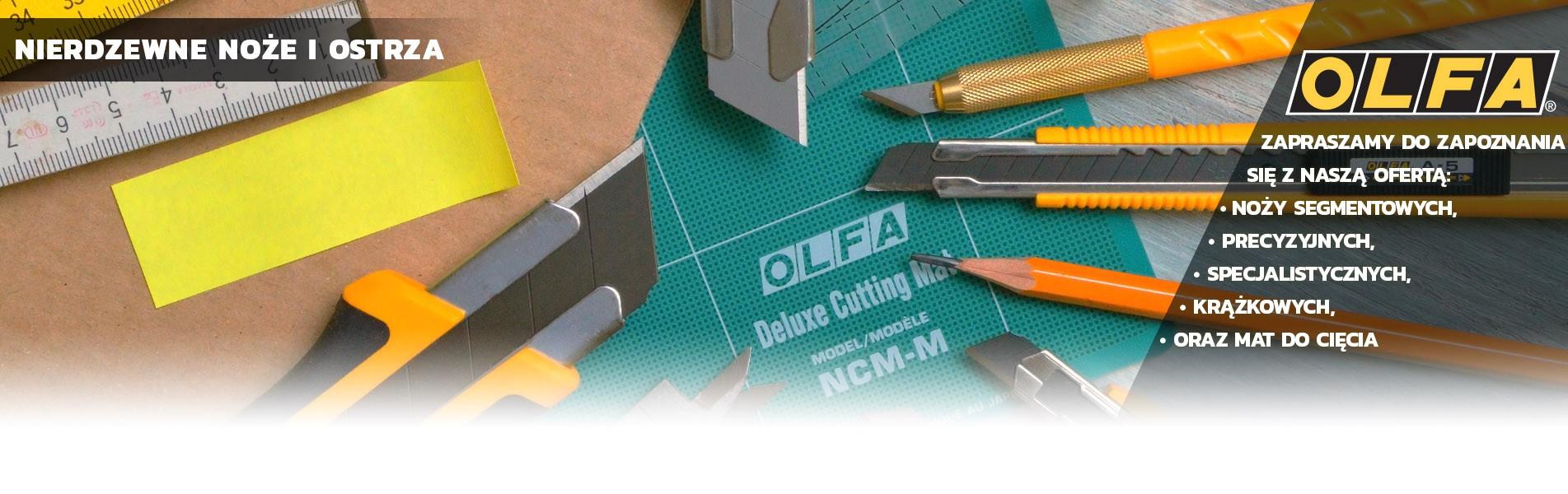 Zapraszamy do zapoznania się z ofertą producenta OLFA